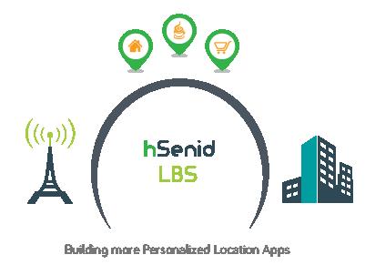Symbolic representation of hSenid LBS